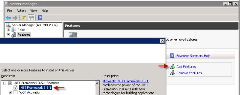 NET 3.5.1 Install