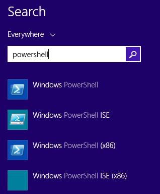 PoSH ISE Icons